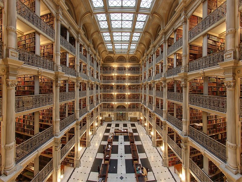 George Peabody Library (photo credit: Matthew Petroff)