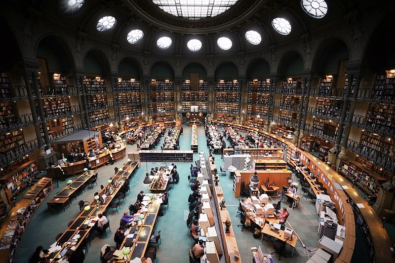 National Library of France (photo credit: Vincent Desjardins)