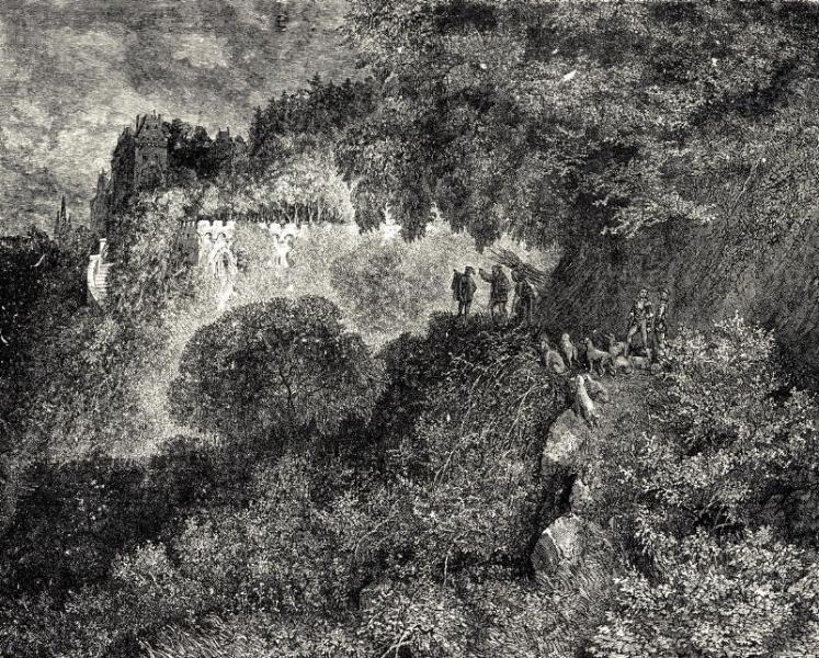 'La Belle au Bois Dormant' ~ Gustave Doré