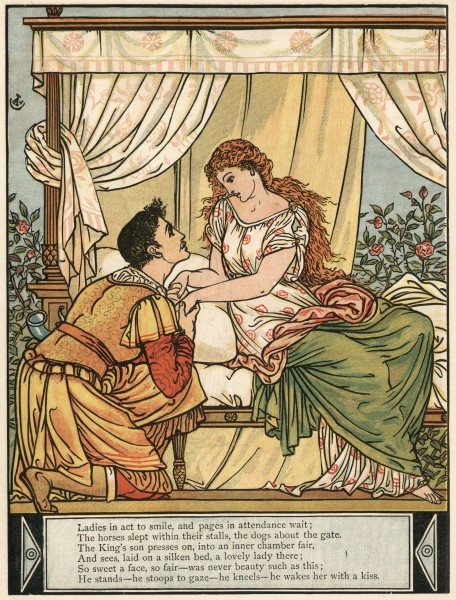 'The Sleeping Beauty' ~ Walter Crane