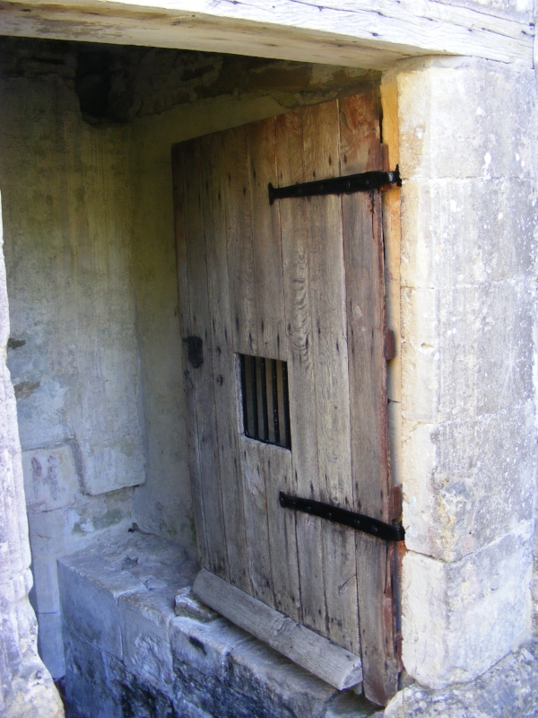 Door to burial vault