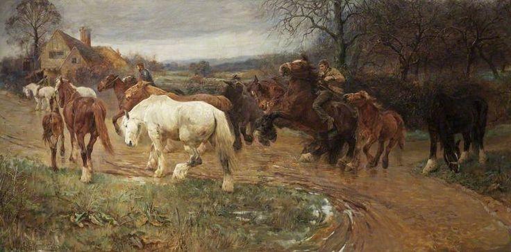 'Gypsy Horse Drovers'