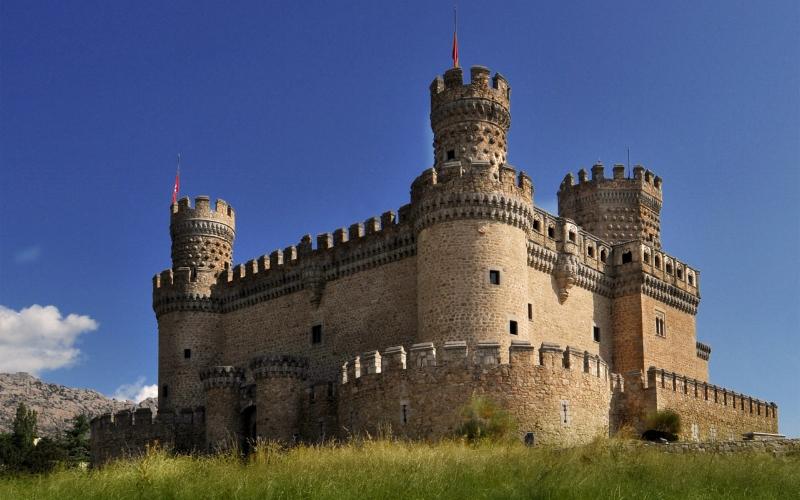 New Castle of Manzanares el Real (Ramon Duran, Flickr)