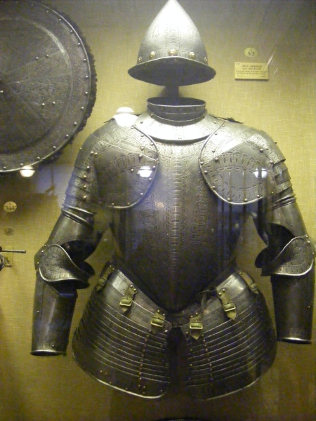 Italian half-armour, The Wallace Collection (own photo)
