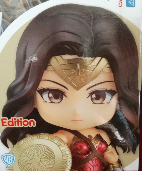 Wonder Woman figure - box image