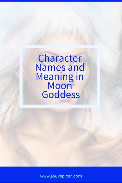 'Moon Goddess' book cover