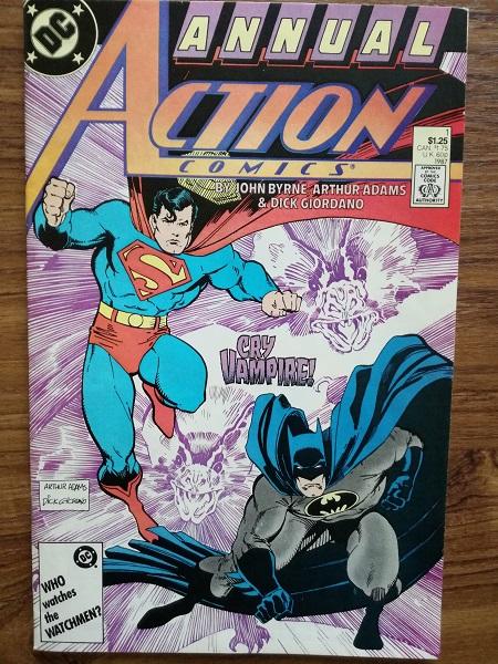 'Action' comics Annual - Batman & Superman
