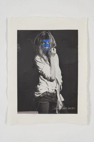 Blue Woman #1, 2007