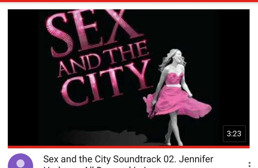 I'm a HUGE Sex and the City fan and her pipes send chills down my spine. Need I say more?