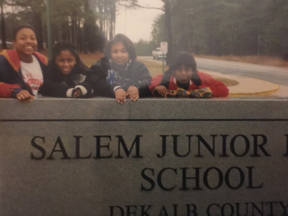 Kamilah Watson, Alona Joseph, Dawn Wright, and Tomisha McIntyre