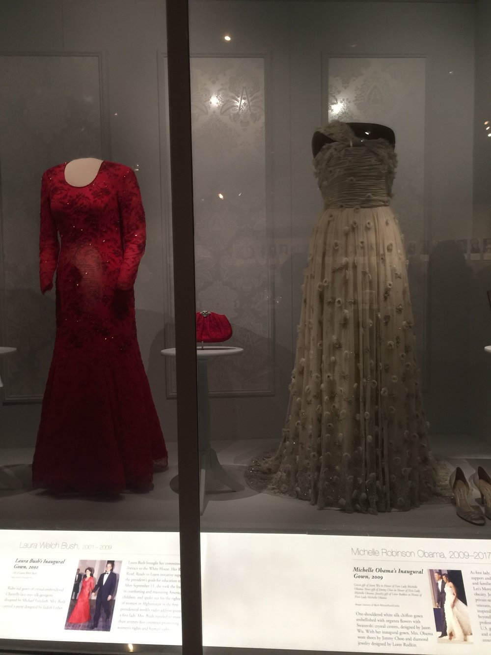 The dresses that the First Ladies have worn. - Washington, DC; Smithsonian Museum, Fall 2018