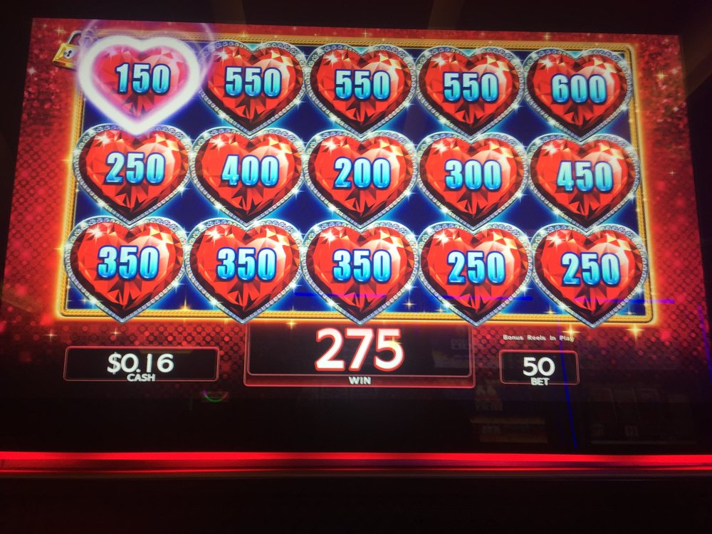 Yup, I was down to sixteen cents. But look how my luck changed! Add those hearts up, baby! - MGM National Harbor, MD summer 2017