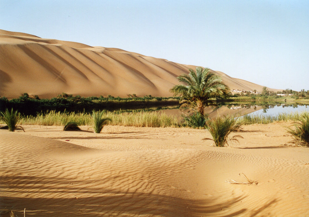 UBARI SAND SEA Lake Gabraoun.jpg