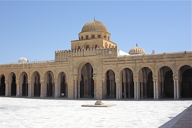 Tunisia- Grand Mosque (Kairouan).jpg