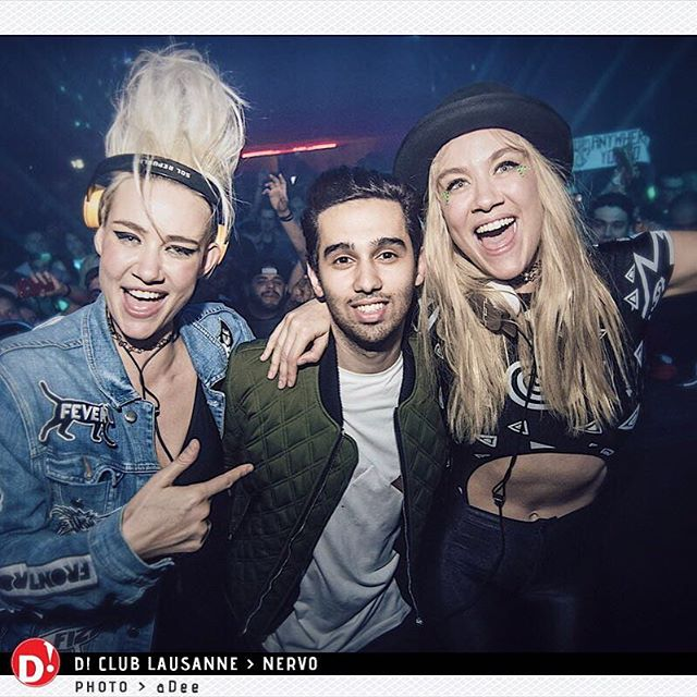 A few weeks ago with @nervomusic at D!Club in Lausanne! So much fun 🔥 #TBT