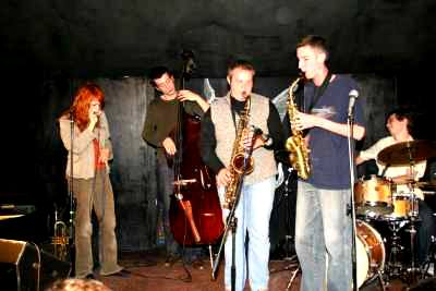 in 2006 Sonia was one of the participants in XXXVII International Jazz Workshops Pulawy 2006 and had her first experience of live jazz.