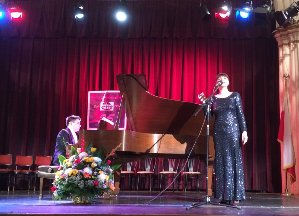 January 2016 - debut in New York, USA performing Alfie by B. Bacharch and Air on G string by J. S. Bach with a prominent Polish pianist Tadeusz Domanowski during the ceremony of the 25th Anniversary of Music Education Centre directed by Janusz Sporek (main act).