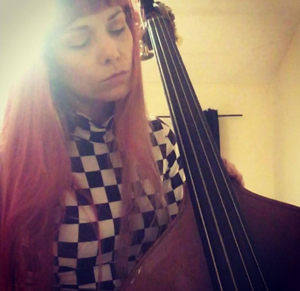 Double bass….