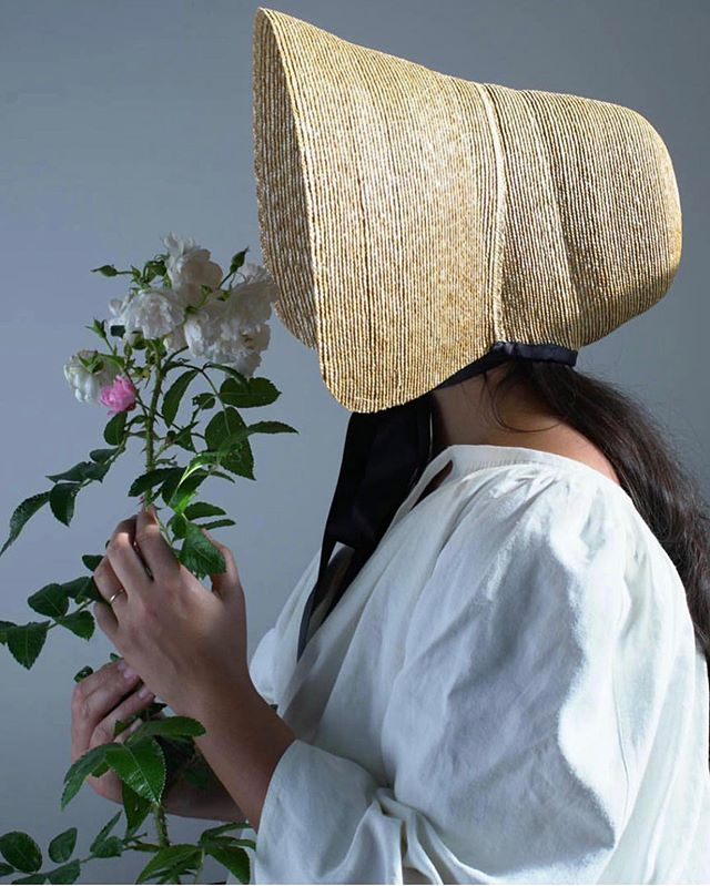 Waiting for spring🌸🌻🌸 and all the beautiful things that will come with it🌸🌻🌸🙏 #bonnet #millinery #hats #handmade #fashion #behidadolic #behidadolicmillinery #style #strawhat #dresses #summer