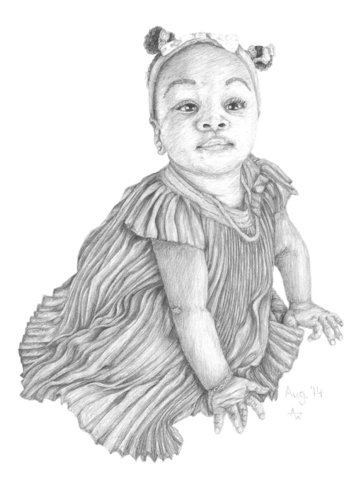 Child - A4 - Graphite pencils