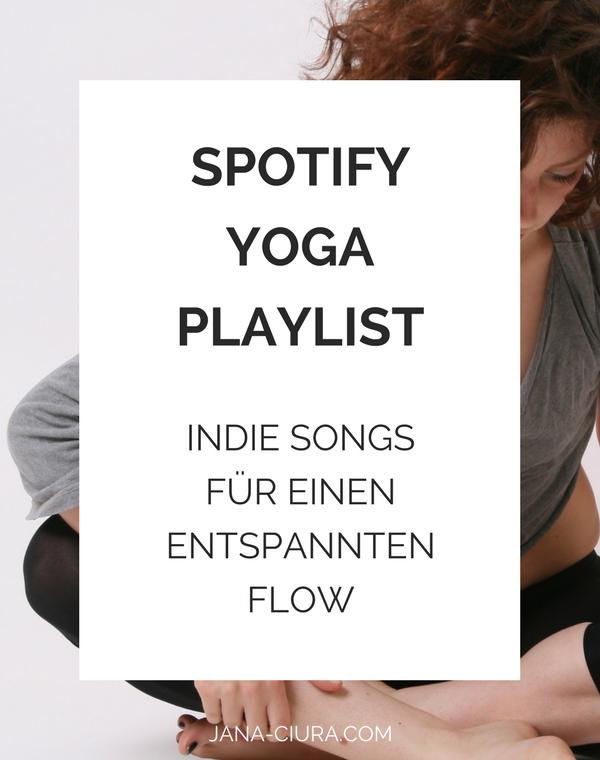 Yoga-Playlist auf Spotify mit Indie Songs für einen entspannten Flow - jetzt hören