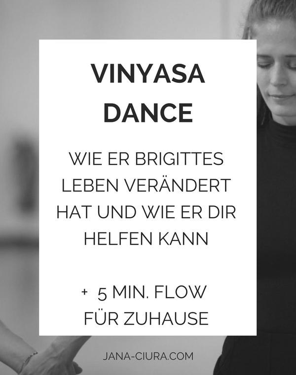 Brigitte Breternizu über Vinyasa Dance - eine Kombination aus Meditation, Yoga und Tanz
