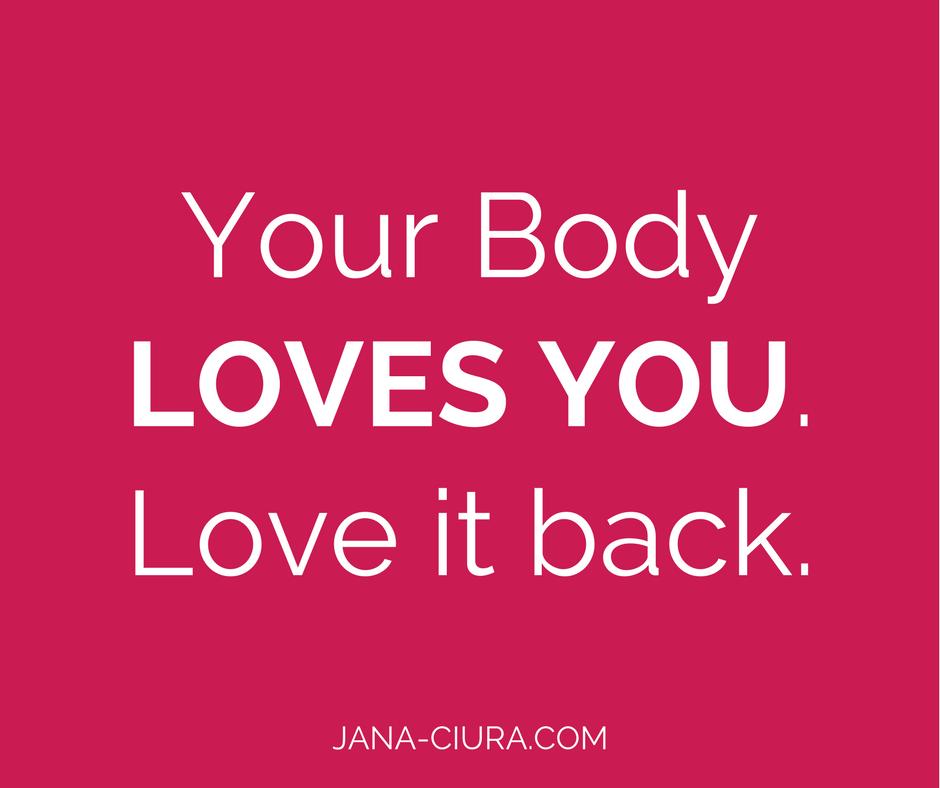 Einfache Achtsamkeitsübung für mehr Body Positivity