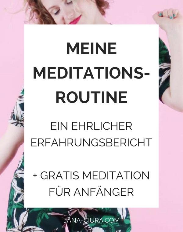 meine Meditationsroutine: ein ehrlicher Erfahrungsbericht von Sophie