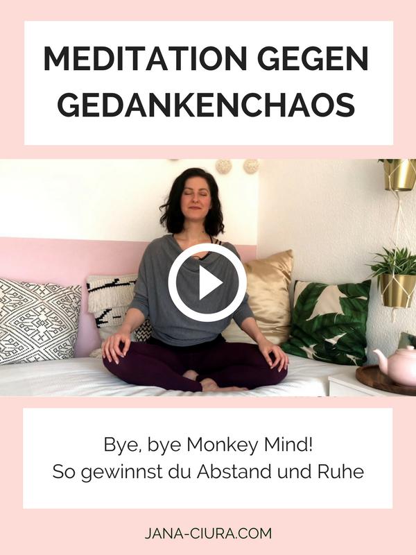 Meditation gegen das Monkey Mind auf YouTube