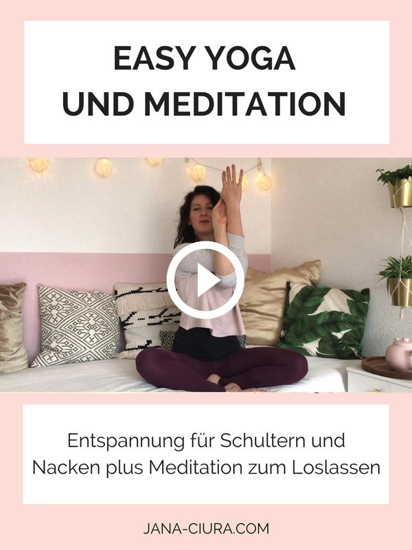 Yoga und Meditation für die Entspannung von Schultern und Nacken auf YouTube