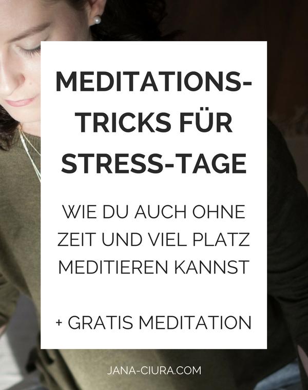Achtsamkeitstipps mit denen du auch an einem hektischen Tag ohne Meditation Ruhe findest - Zum Blogpost