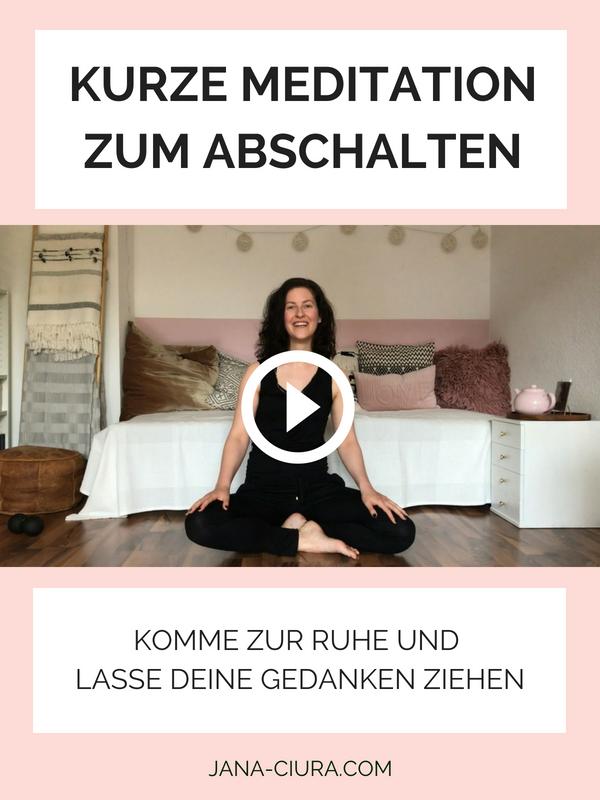 Entspannungsübungen für den Nacken und eine einfache Meditation zum schnell Entspannen - YouTube Video