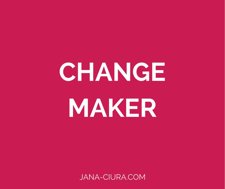 Achtsamkeit kann große Veränderung bewirken.