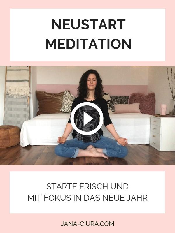 Geführte Meditation zum Jahreswechsel - YouTube Video