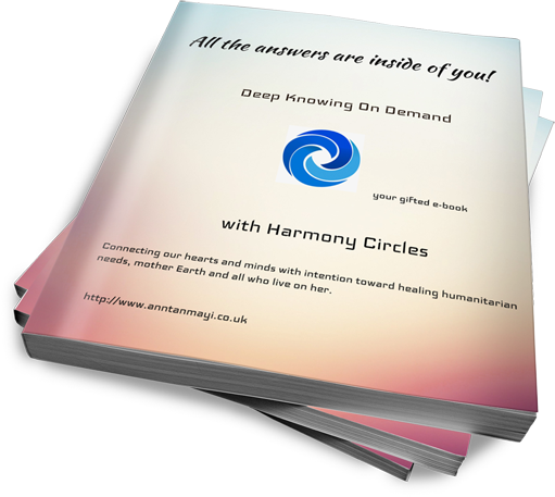 All the answers are inside of you - Free E-Book : helps you discern your own truth whilst living in this 24/7 full-on digital world.