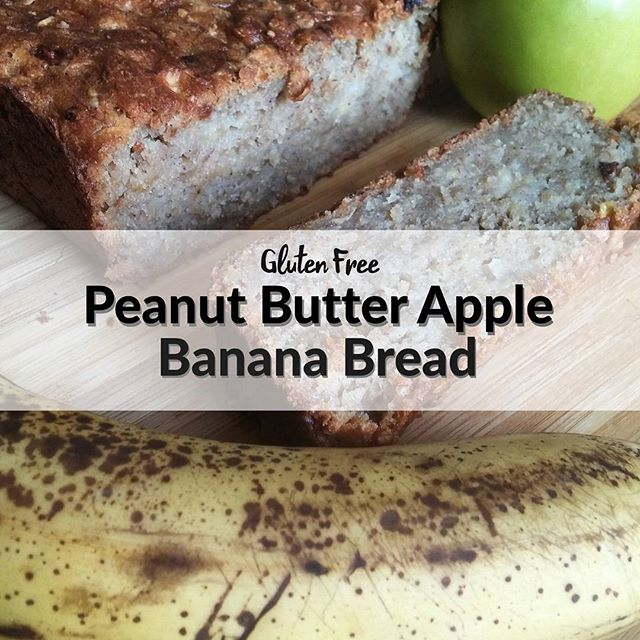 I ate it, it's amazing, and as promised it's up on the blog! Seriously make this guys. You will not be sorry. Recipe link in profile! . . . . . #madeglutenfree #glutenfree #bananabread #peanutbutter #apple #sogood #glutenfreebaking #healthytreats #spooniebaking #foodblogger #glutenfreerecipe #recipelinkinprofile #easyglutenfree #easyrecipe #chronicillness #chronicpain #disabiled #makethebestofit