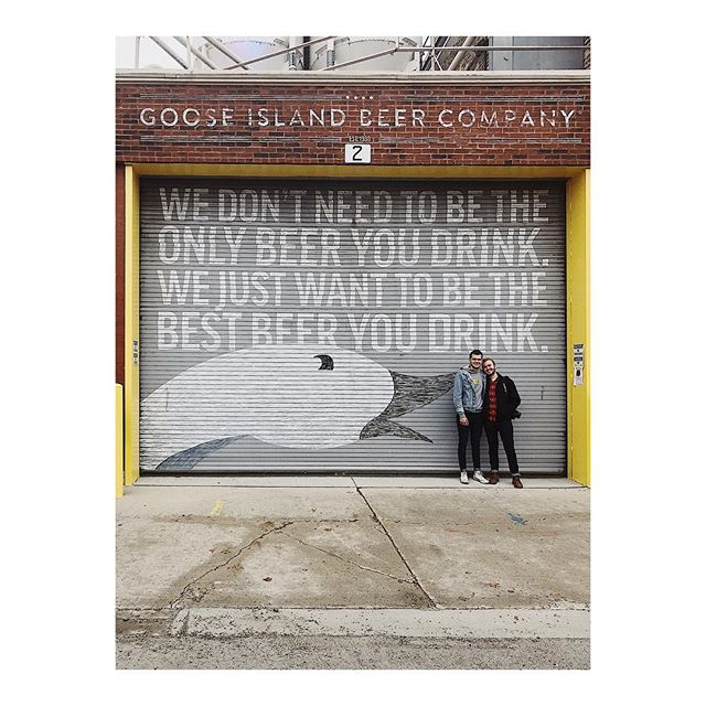 Sept. 30, 2018 // Goose Island Brewery // my love #VSCO