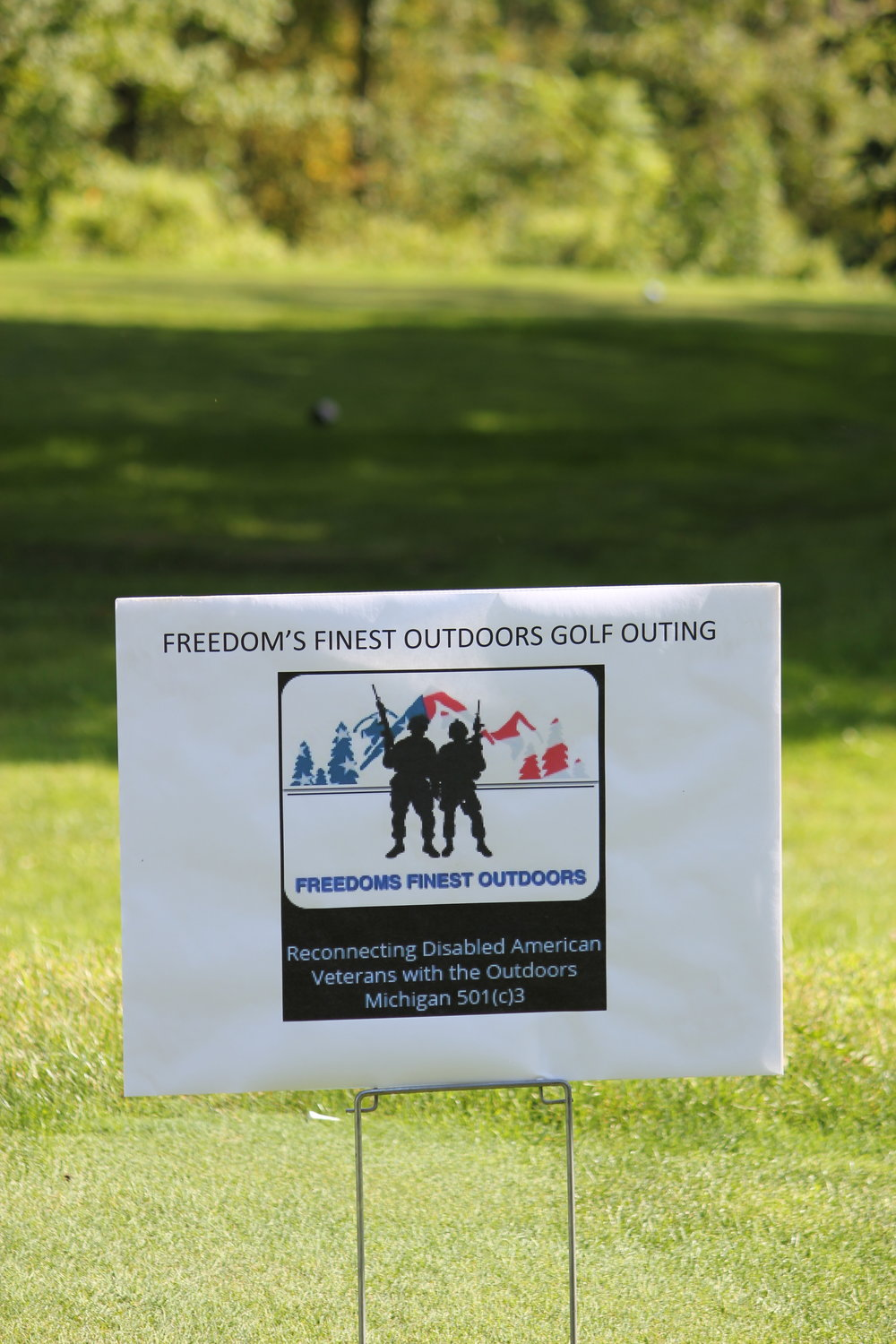Freedoms Finest sponsor sign FFO Golf Outing 201 copy.JPG