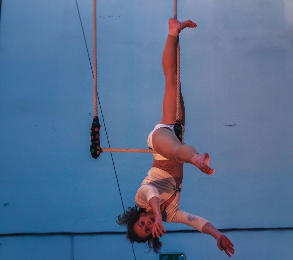 Yoga teacher in training