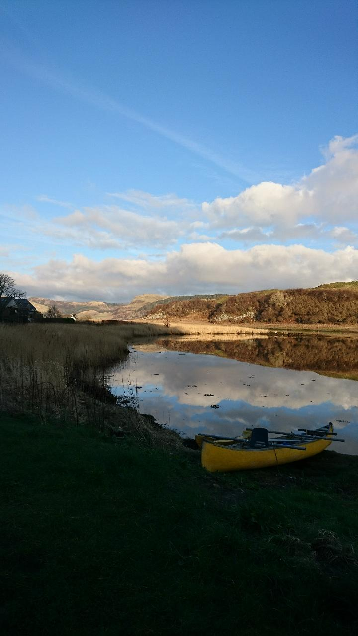 View of Loch Craignish 5 mins walk from the bothy