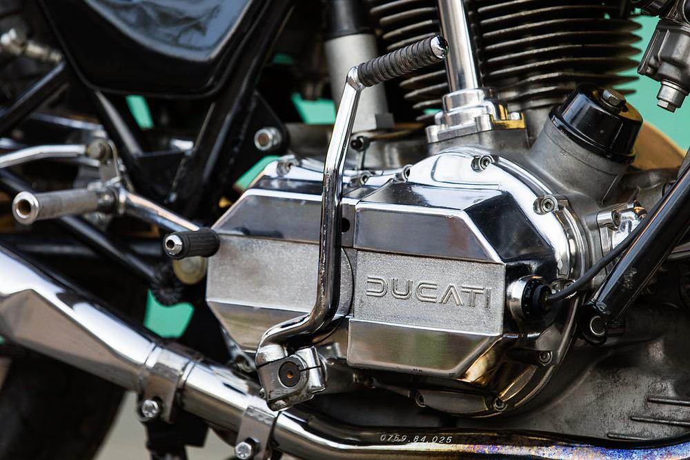 1979 Ducati 900SS kick start