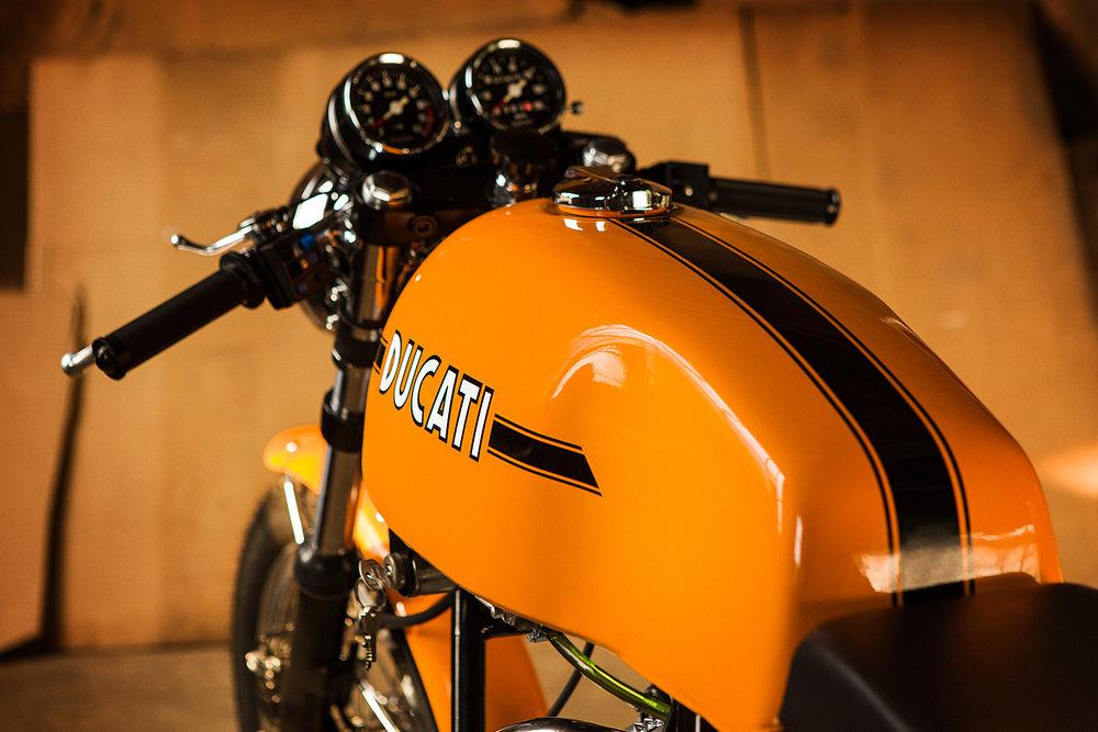 1974 Ducati 750S Sport tank