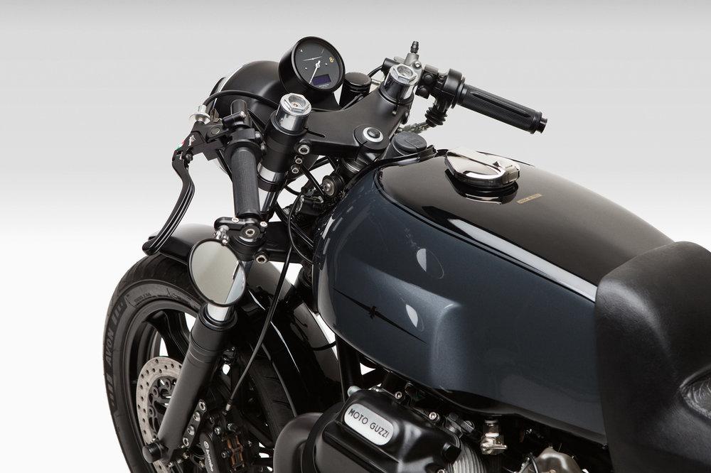 Moto Borgotaro Custom Moto Guzzi Lemans Motogadget