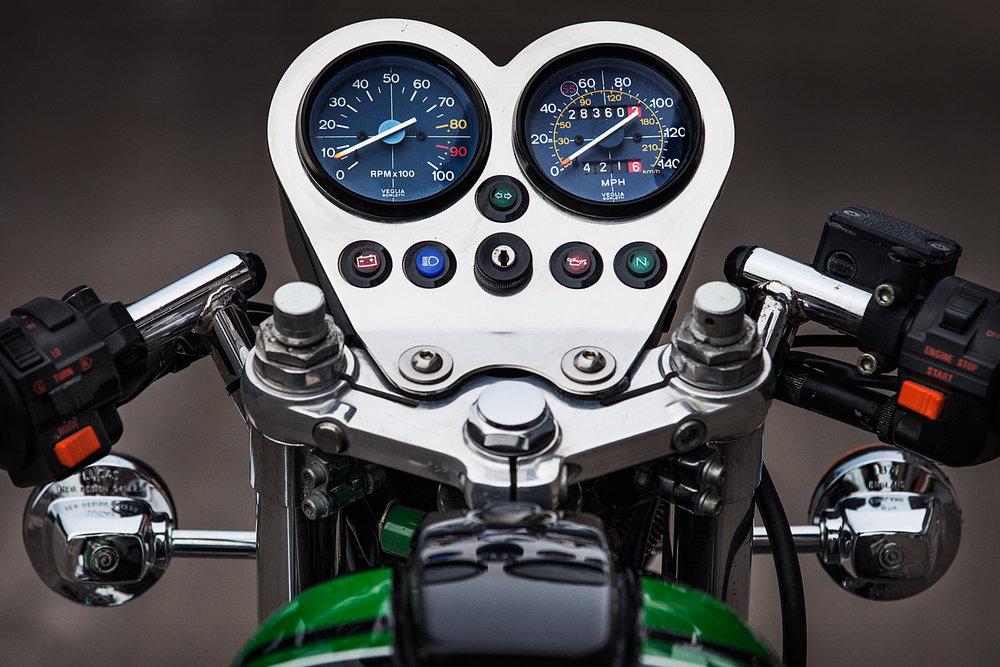 1993 Moto Guzzi 1000S gauges