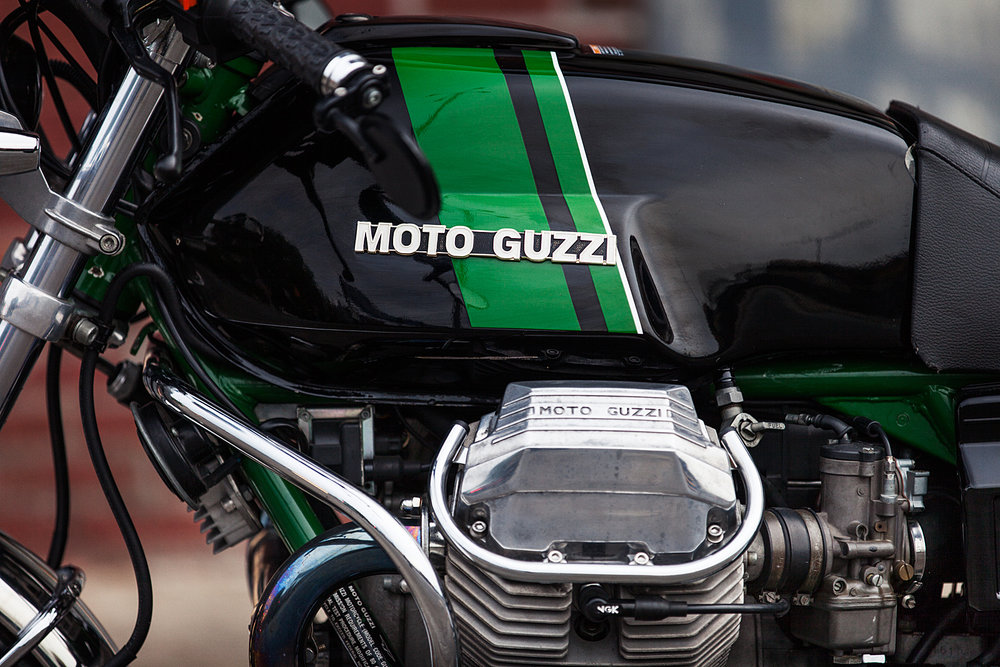 1993 Moto Guzzi 1000S valve cover paint