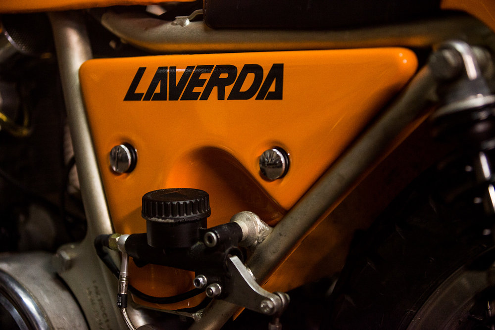 1974 Laverda SFC rear brake