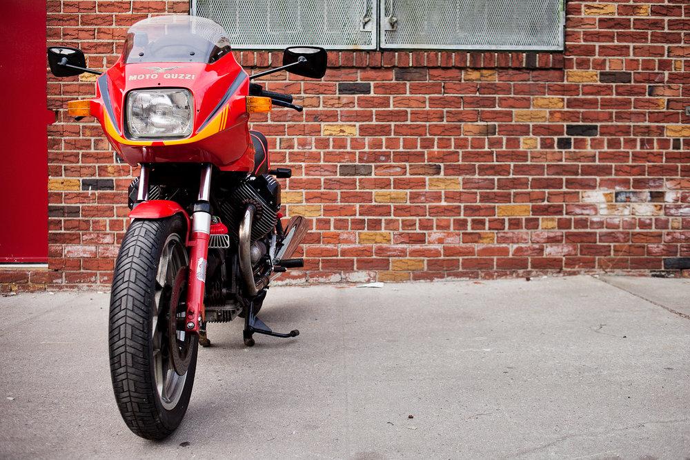 1983 Moto Guzzi Lemans 3 Front