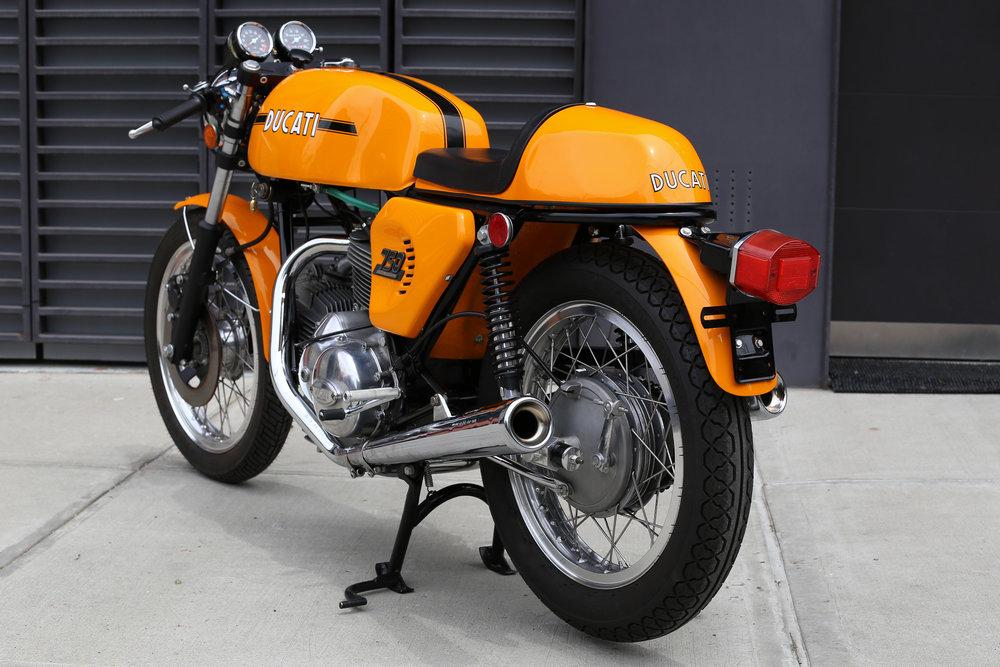 1974 Ducati 750S Tail