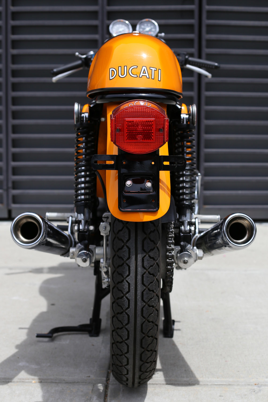 Exhaust 1974 Ducati 750S