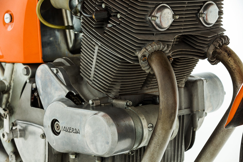 1972 Laverda SFC Exhaust